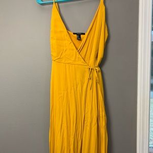 MAXI wrap dress!